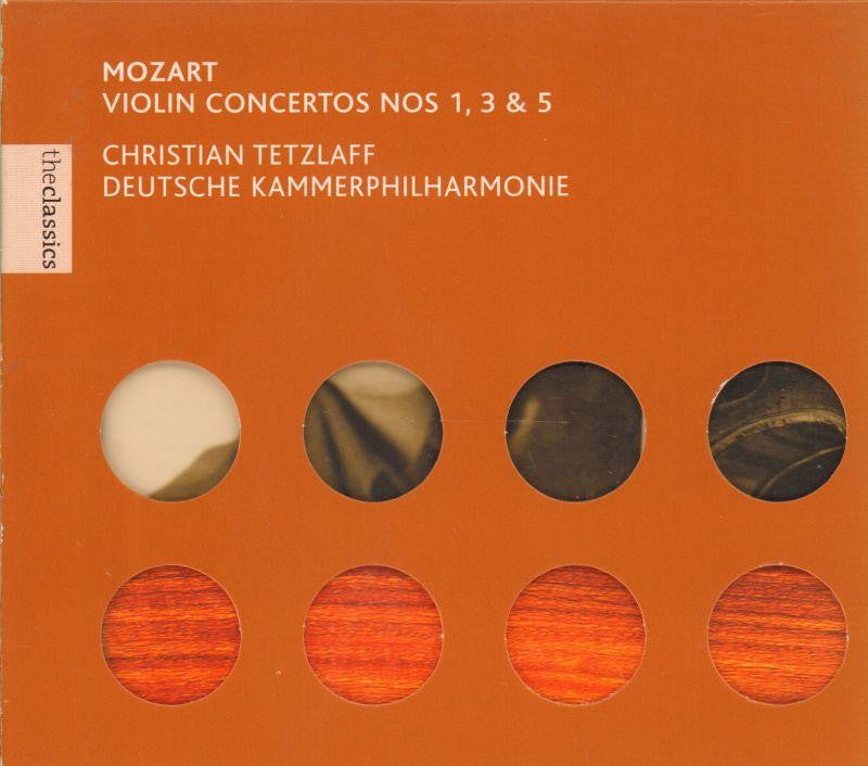 Mozart-Violin Concertos-CD Album