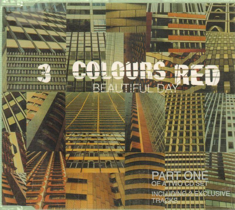 3 Colours Red-Beautiful Day PT1-CD Single
