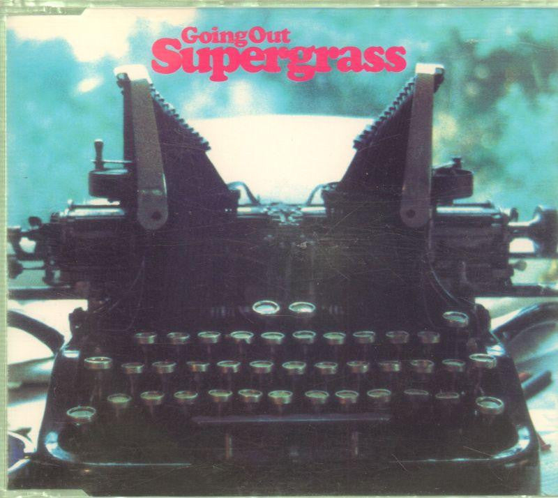 Supergrass-Going Out-CD Single
