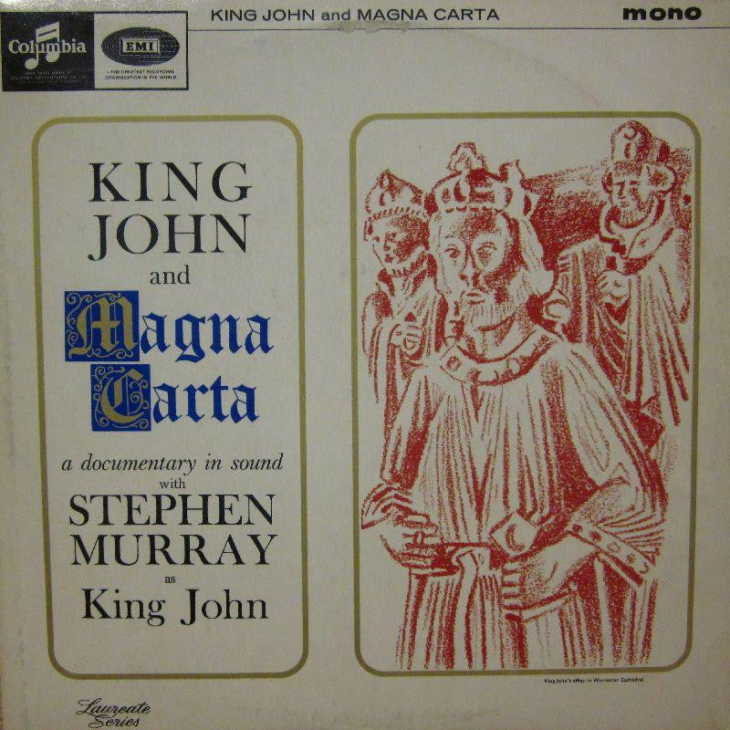 Stephen Murray-King John and Magna Carta-Columbia-Vinyl LP
