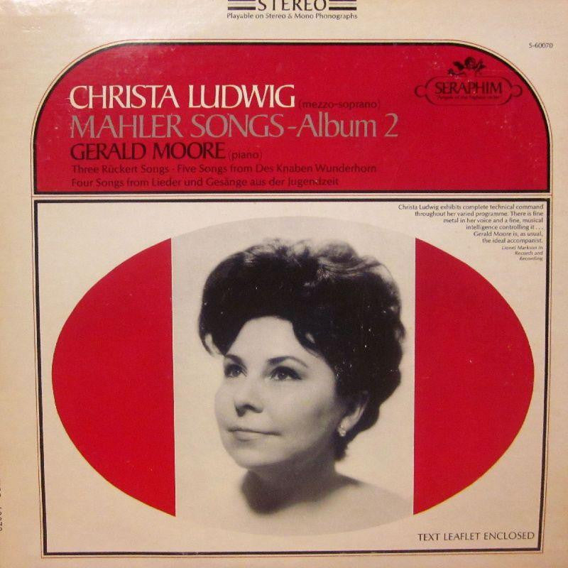 Christa Ludwig-Mahler Songs - Album 2-Seraphim-Vinyl LP