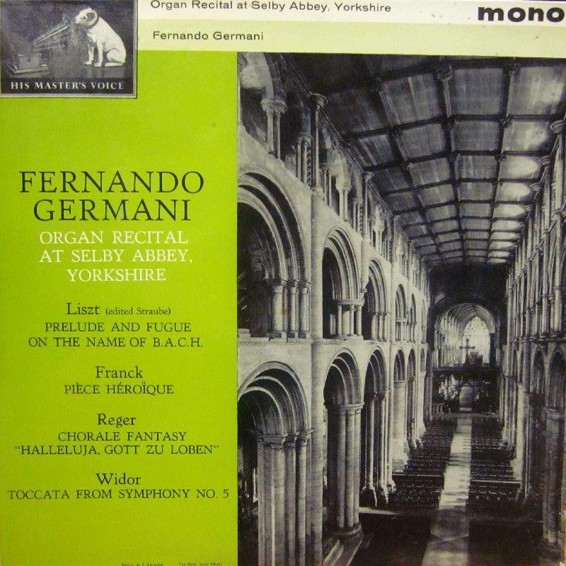 Germani-Organ Recital at Selby Abbey-HMV-Vinyl LP