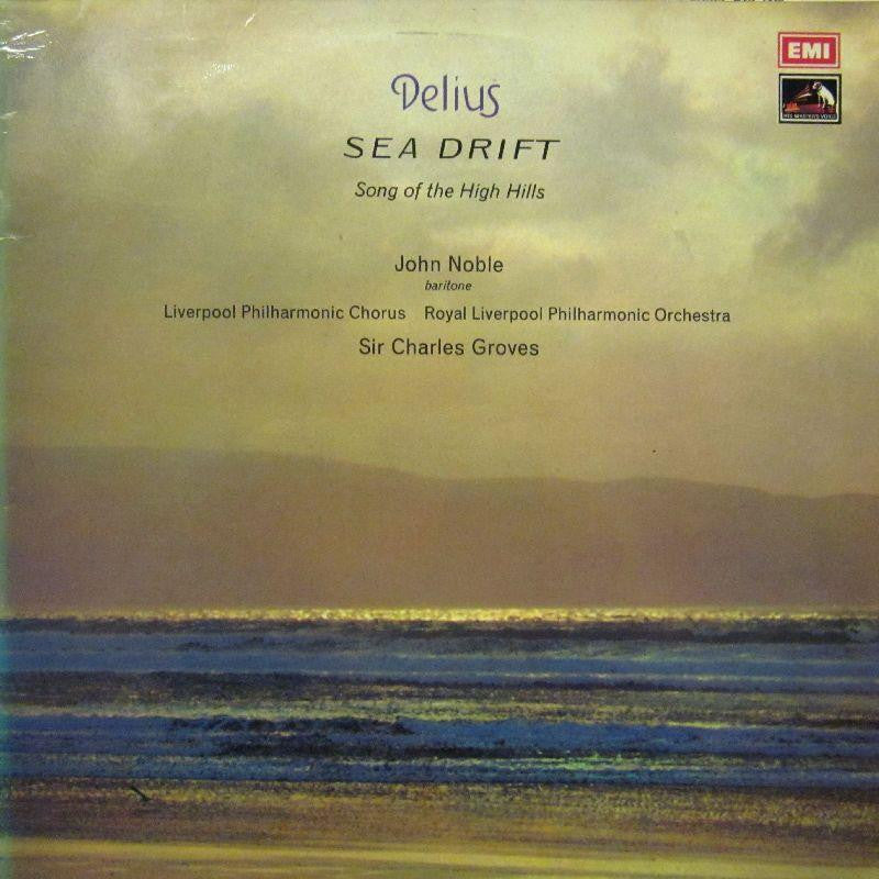 Delius-Sea Drift-HMV-Vinyl LP