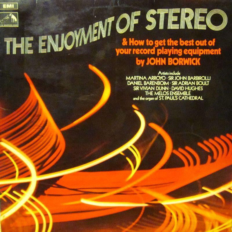 John Borwick-The Enjoyment of Stereo-HMV-Vinyl LP