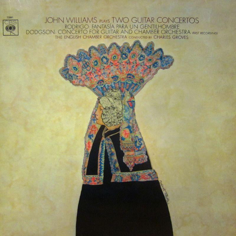 John Williams-Two Guitar Concertos-CBS-Vinyl LP