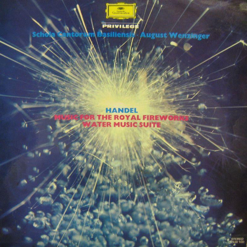 Handel-Music For The Royal Fireworks-Deutsche Grammophon-Vinyl LP