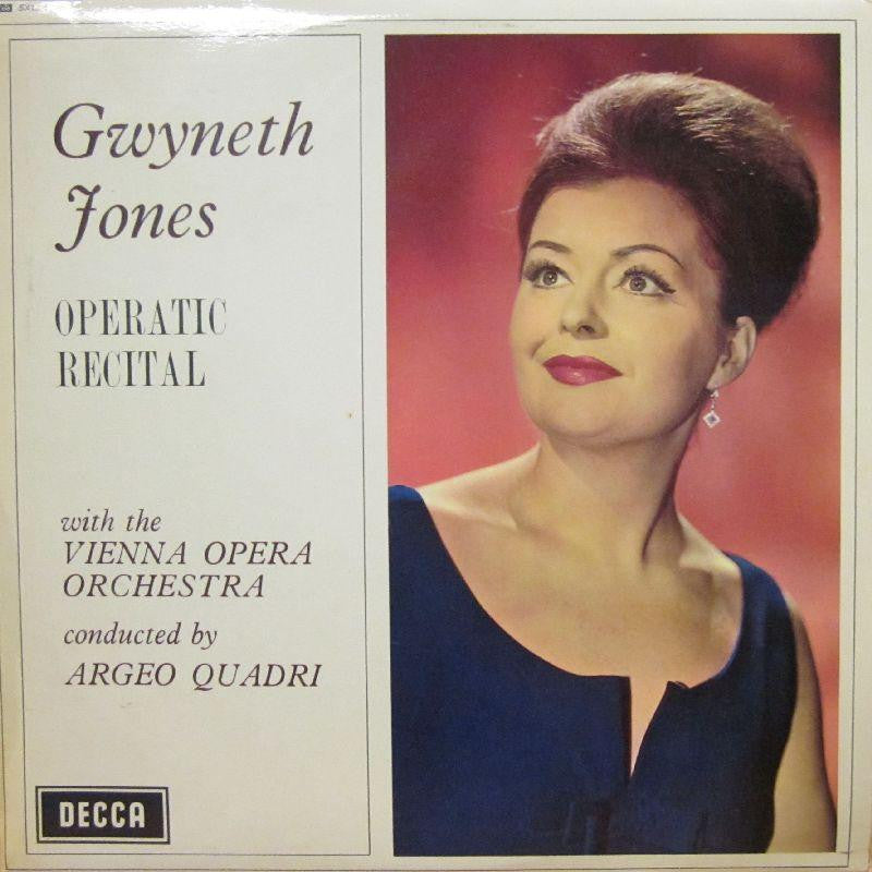 Gwyneth Jones-Operatic Recital-Decca-Vinyl LP