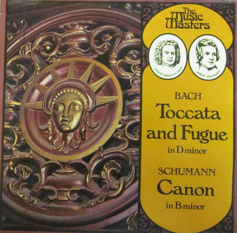"Toccata, Fugue-Canon In D Minor-EMI-7"" Vinyl"