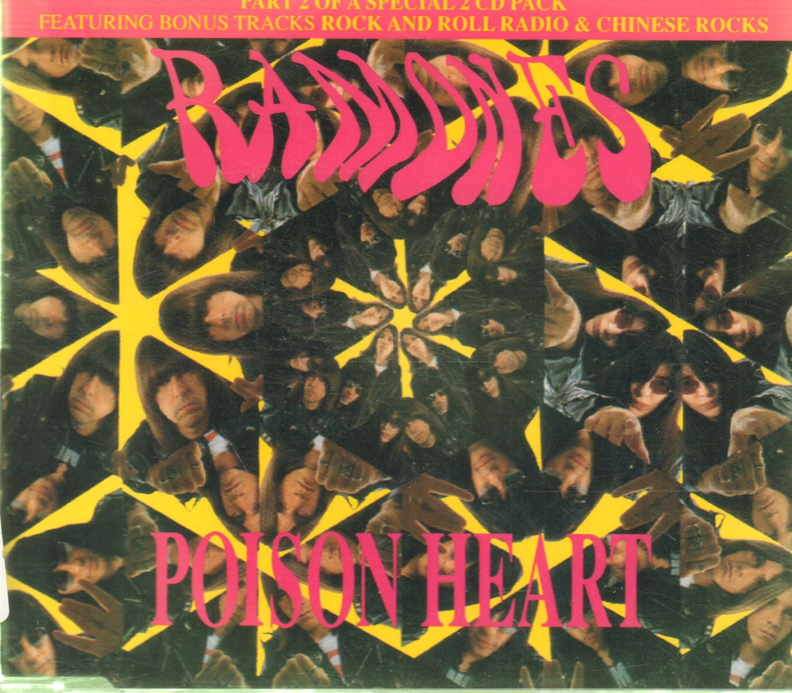 Ramones-Poison heart-CD Single