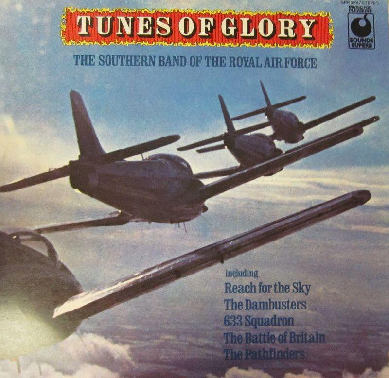 The Southern Band of The Royal Air Force-Tunes of Glory-Sounds Superb-Vinyl LP