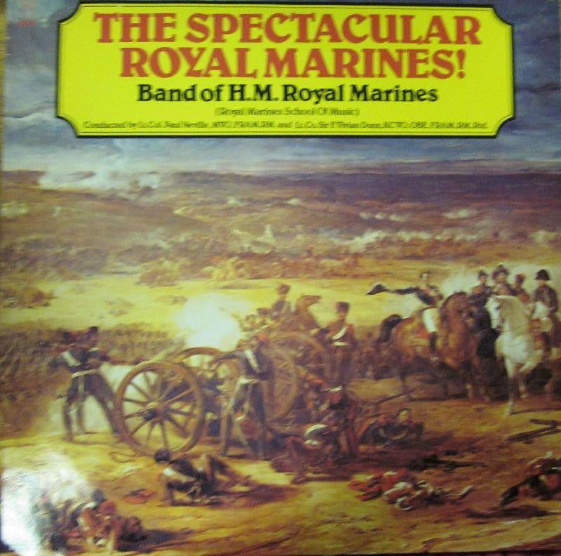 The Band Of HM Royal Marines-The Spectacular Royal Marines-EMI-Vinyl LP