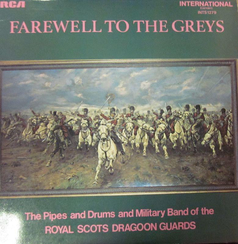 Royal Scots Dragoon Guards-Farewell To The Greys-RCA-Vinyl LP