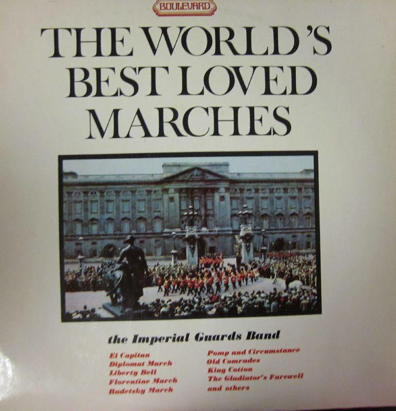 The Imperial Guards Band-The World's Best Loved Marches-Boulevard-Vinyl LP
