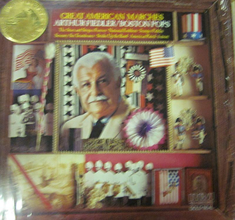 Arthur Fiedler-Great American Marches-RCA-Vinyl LP