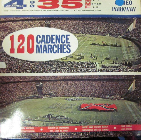 Various Military-120 Cadence Marches-Cameo Parkway-Vinyl LP