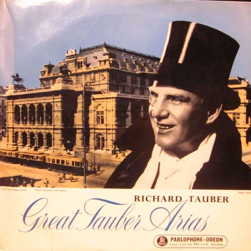 "Richard Tauber-Great Tauber Arias-Parlophone-Odeon-10"" Vinyl"
