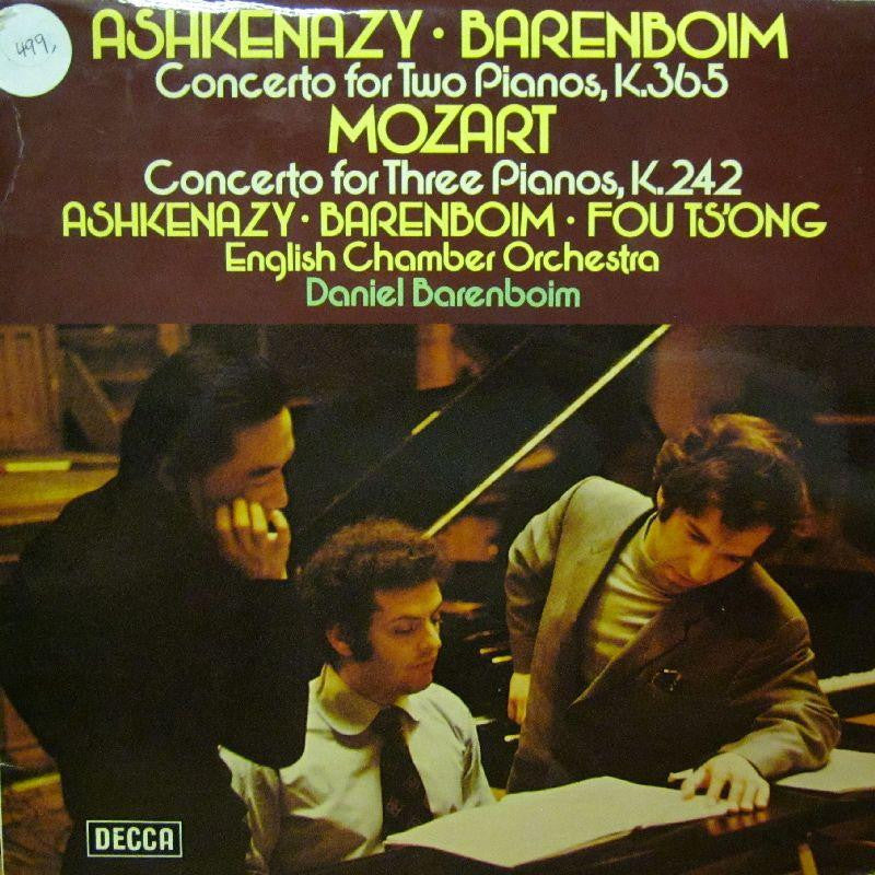Ashkenzy/Barenboim/Mozart-Concerto For Two Pianos-Decca-Vinyl LP