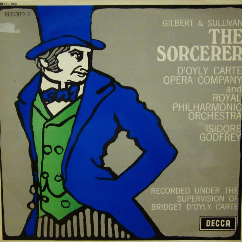 The D'Oyly Carte Opera Company-The Sorcerer Record 2-Decca-Vinyl LP