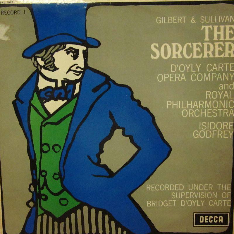 The D'Oyly Carte Opera Company-The Sorcerer Record 1-Decca-Vinyl LP