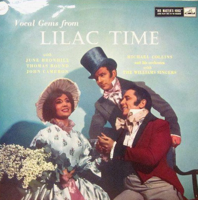 Various Opera-Vocal Gems From Lilac Times-HMV-Vinyl LP