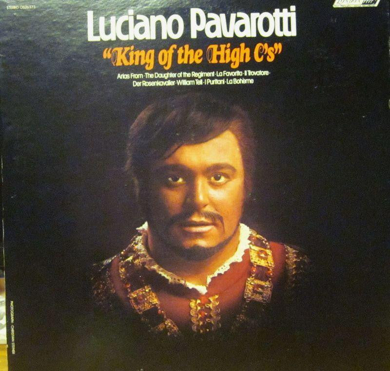 Pavarotti-King Of The High C'S-London-Vinyl LP
