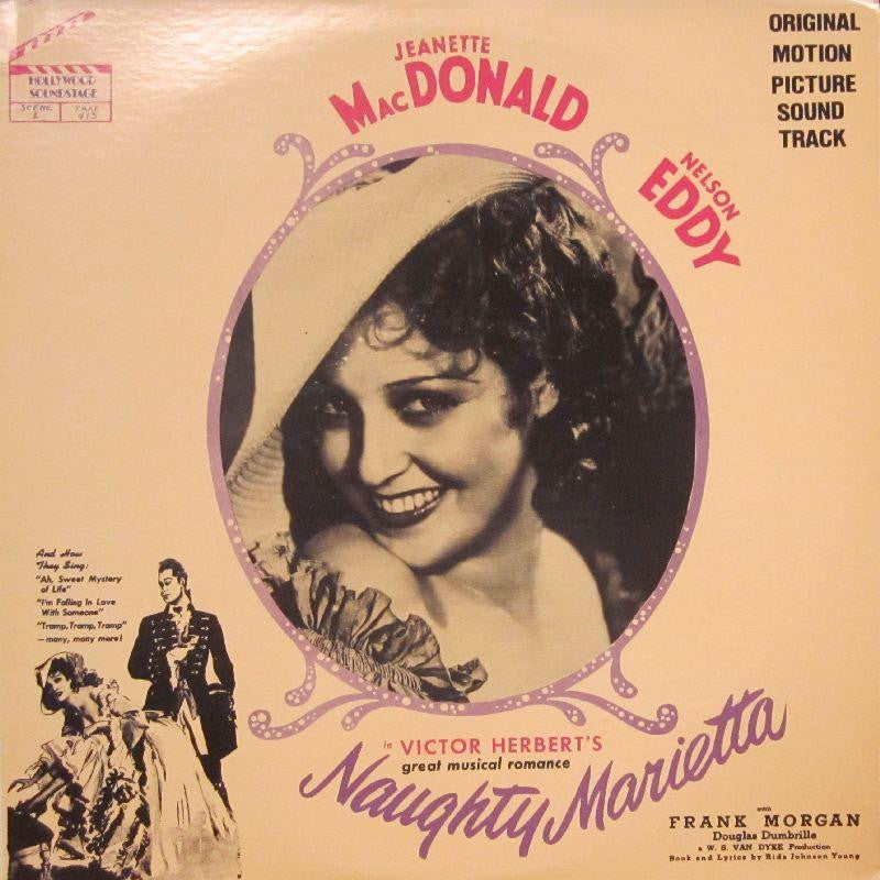 Jeanette MacDonald & Nelson Eddy-Naughty Marietta-Hollywood-Vinyl LP
