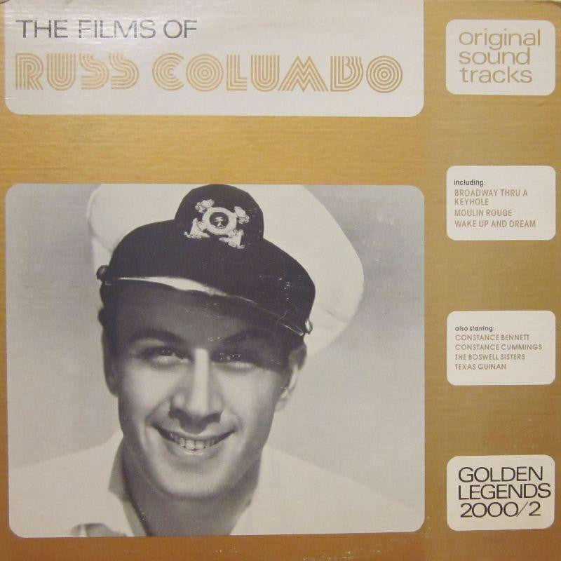 Russ Columbo-The Films Of-Golden Legends-Vinyl LP