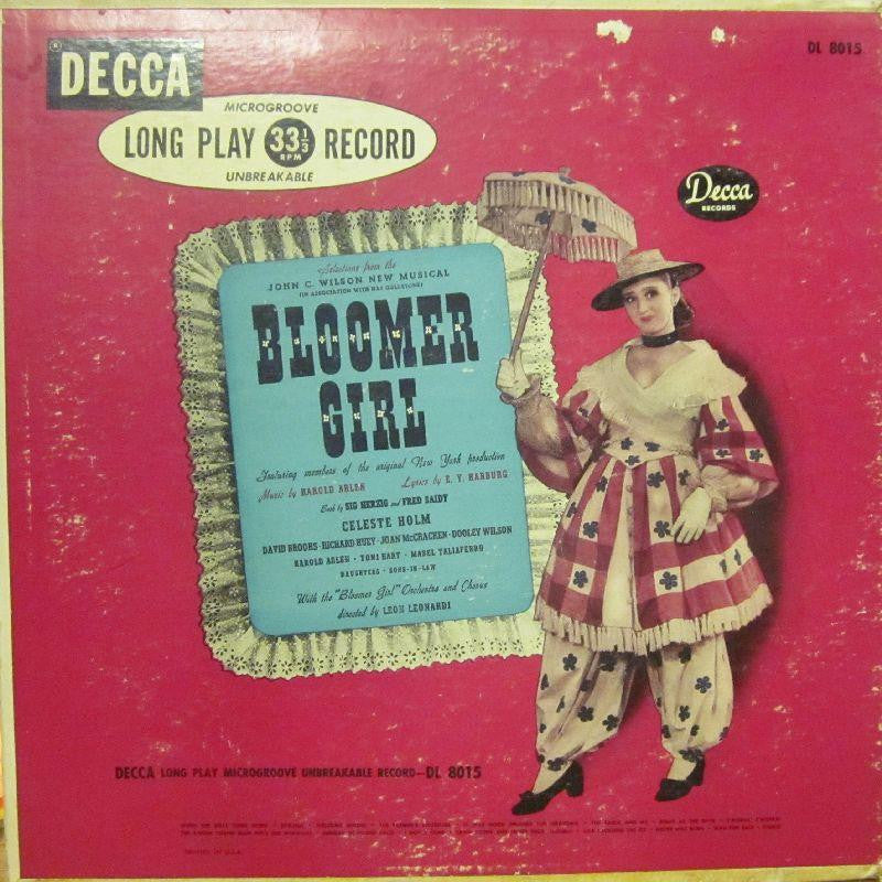 Various OST-Bloomer Girl-Decca-Vinyl LP