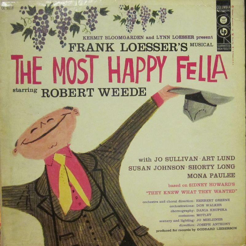 Various OST-The Most Happy Fella-Columbia-Vinyl LP Gatefold