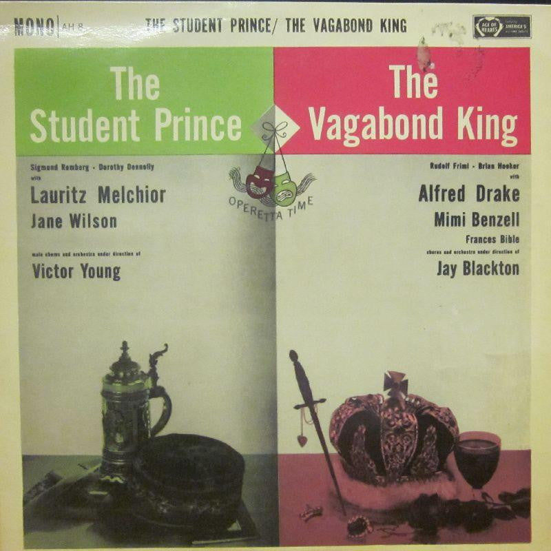 Alfred Drake-The Student Prince/The Vagabond King-Decca-Vinyl LP