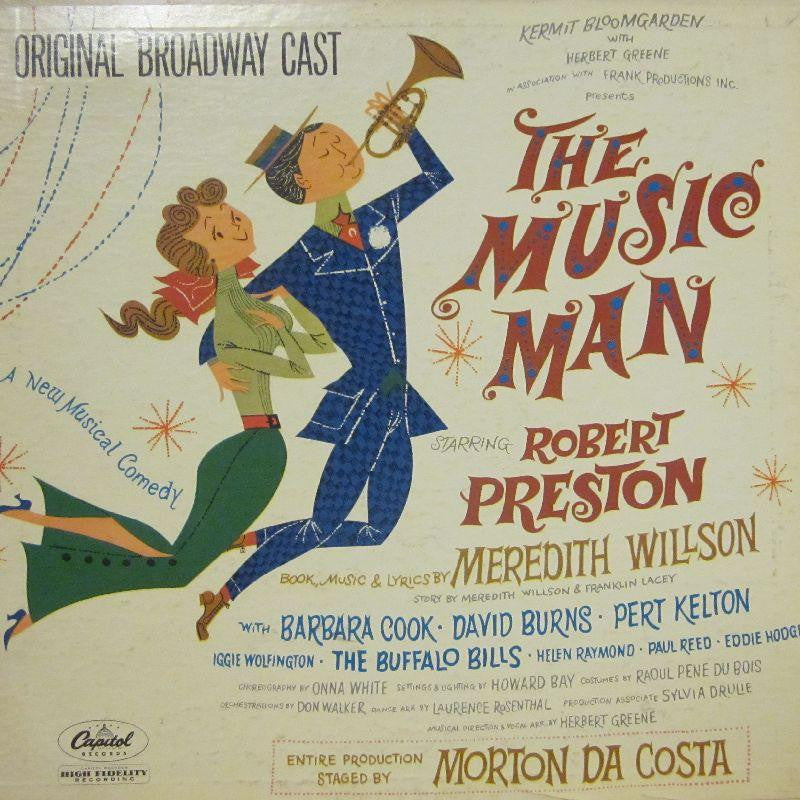 Various OST-The Music Man-Capitol-Vinyl LP Gatefold
