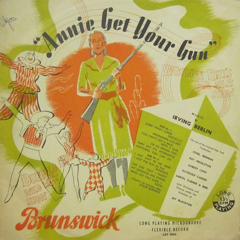 D J Shortcut-Annie Get Your Gun-Brunswick-Vinyl LP