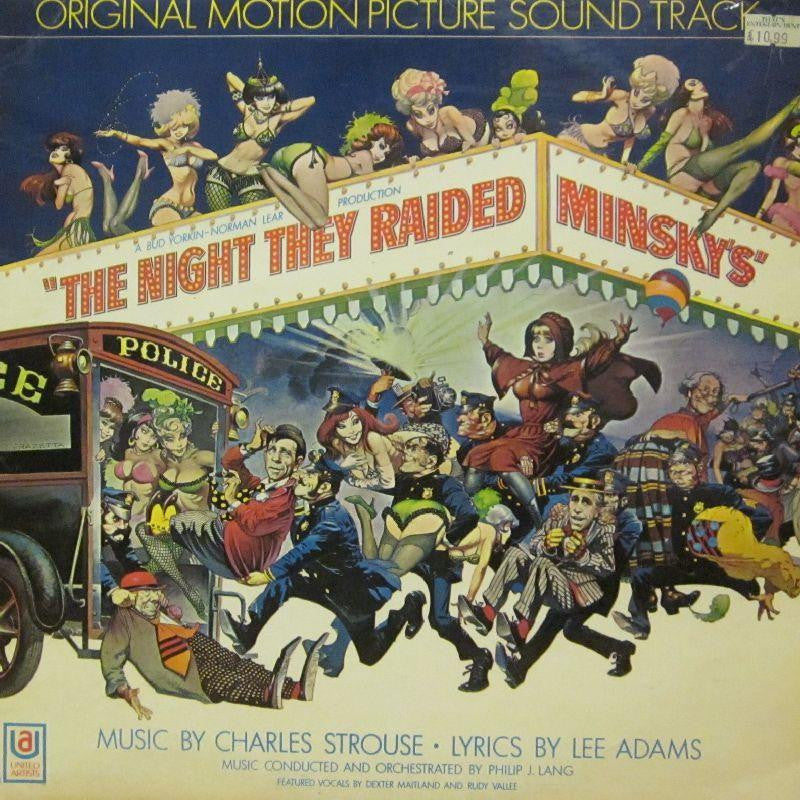Various OST-The Night They Raided Minksy's-United Artist-Vinyl LP