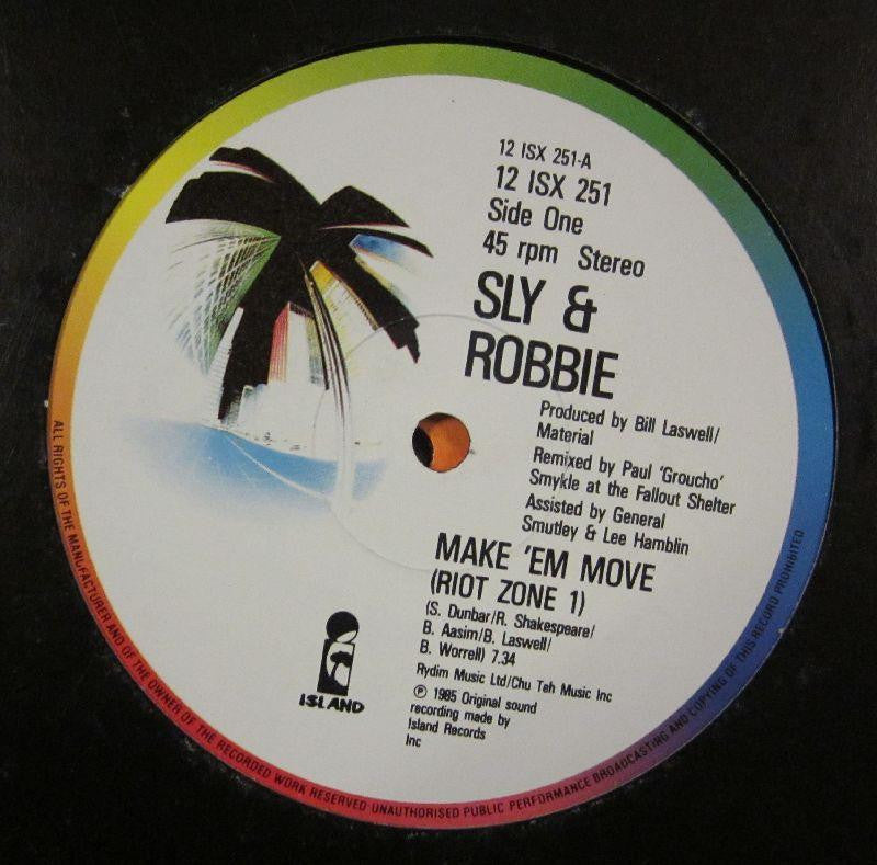 "Sly And Robbie-Make 'Em Move (Riot Zone Remixes)-Island-12"" Vinyl"