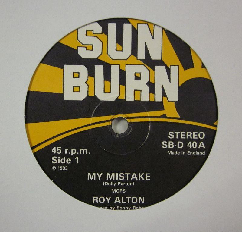 "Roy Alton-My Mistake-Sun Burn-12"" Vinyl"