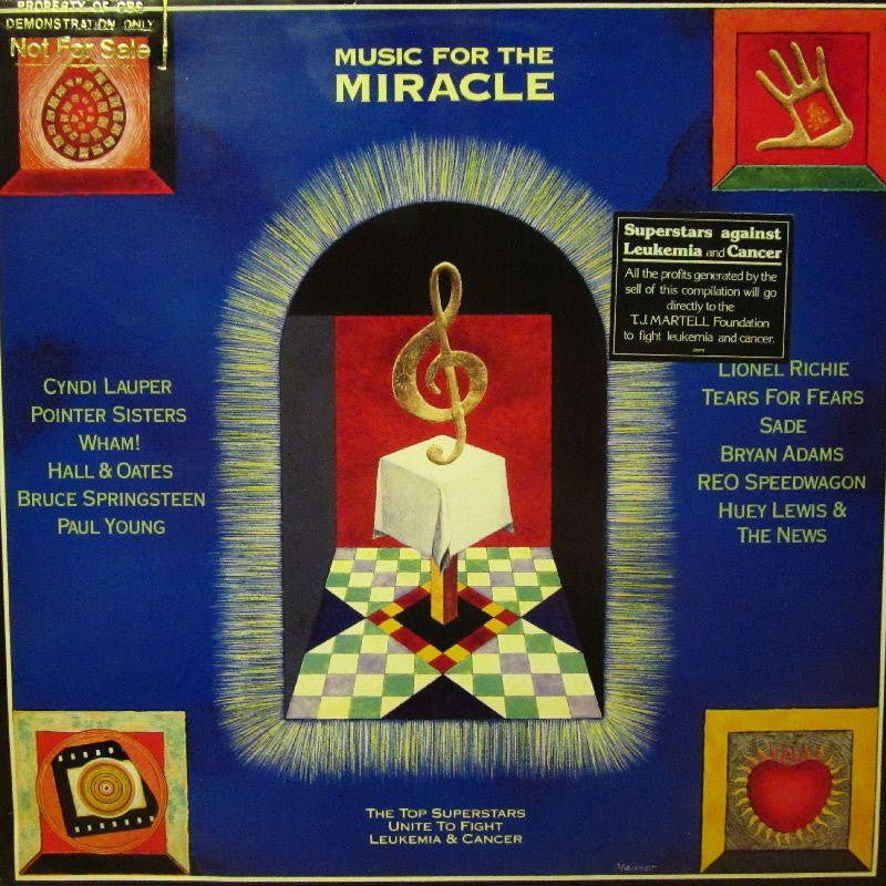 Various 80s Pop-Music For The Miracle-Epic-Vinyl LP
