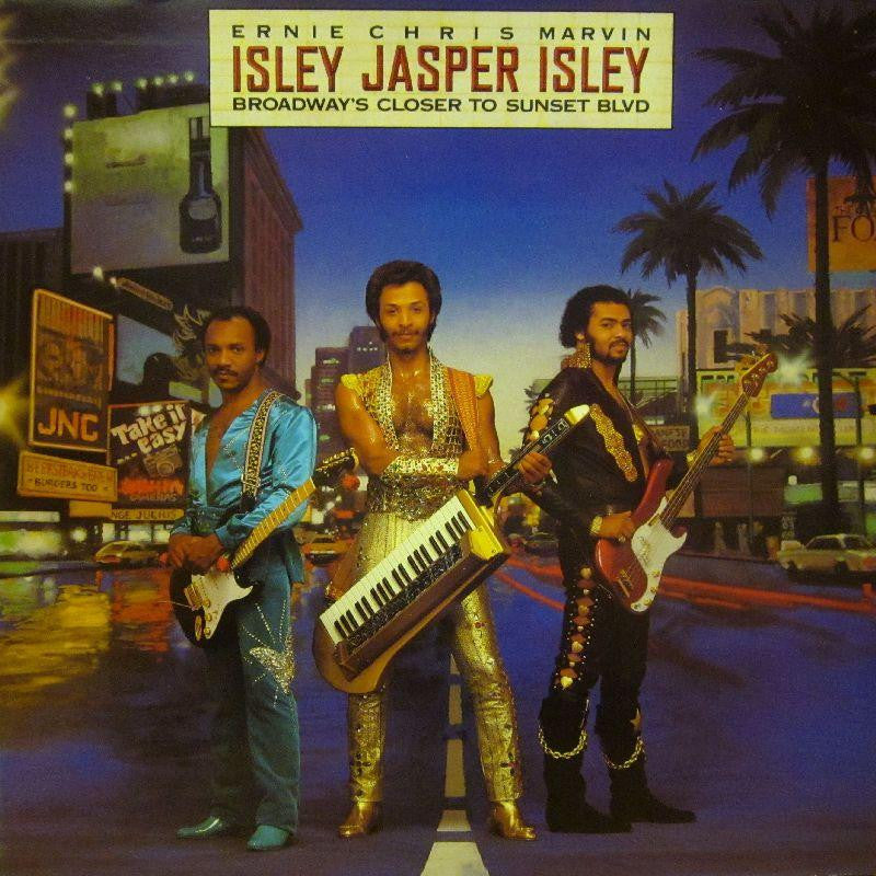 Isley Jasper Isley-Broadway's Closer To Sunset Blvd-Epic-Vinyl LP