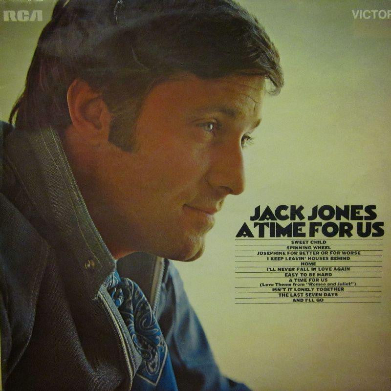 Jack Jones-A Time For Us-RCA-Vinyl LP