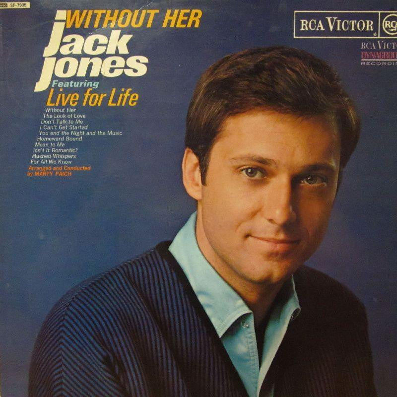 Jack Jones-Without Her-RCA-Vinyl LP