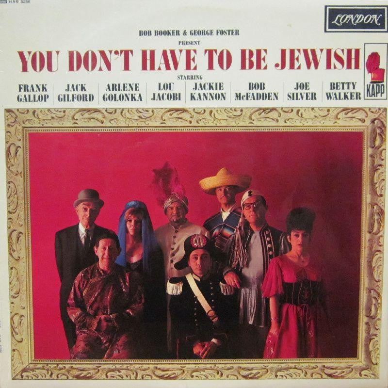 Various OST-You Don't Have To Be Jewish-London-Vinyl LP