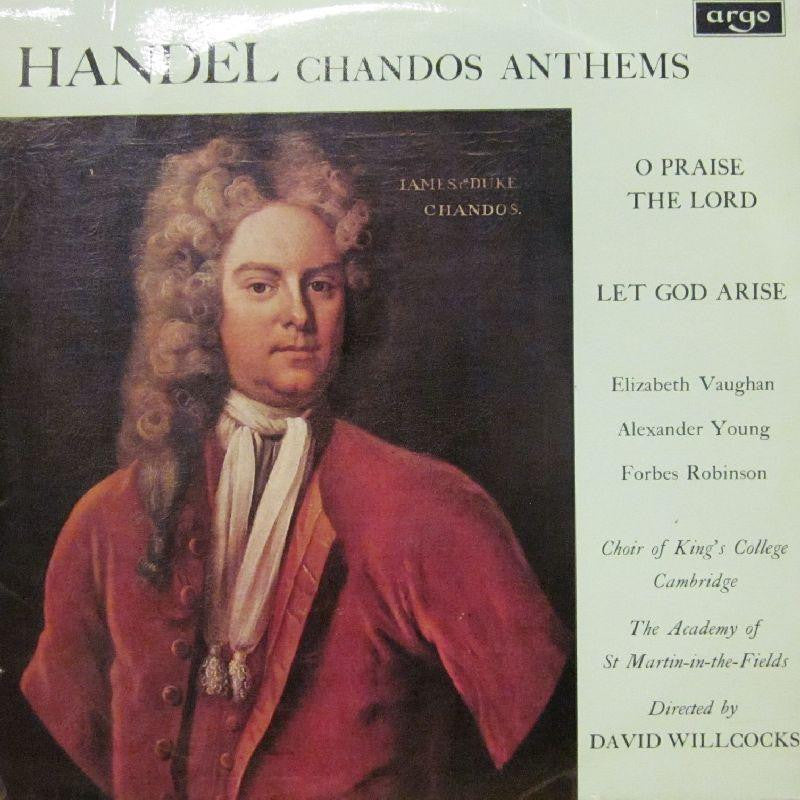 Handel-Chandos Anthems-Argo-Vinyl LP