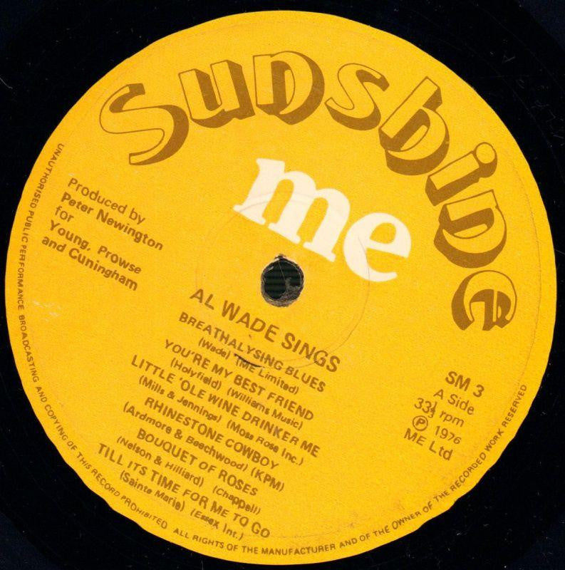 Sings-Sunshine Me-Vinyl LP-VG/VG+