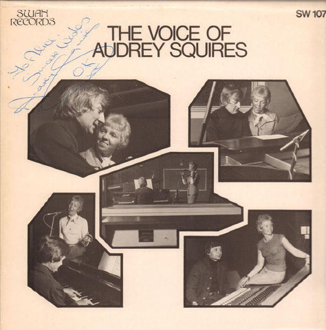 Audrey Squires-The Voice Of-Swan-Vinyl LP