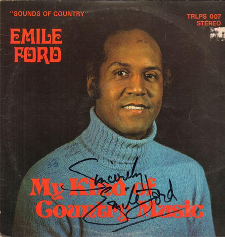 Emile Ford-My Kind Of Country Music-Transdic-Vinyl LP