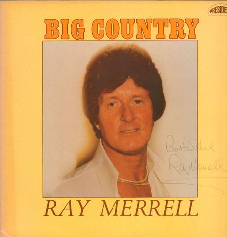 Ray Merrell-Big Country-President-Vinyl LP