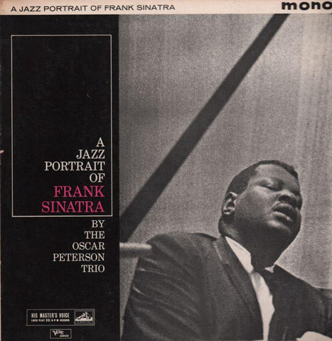 The Oscar Peterson Trio-A Portrait Of Frank Sinatra-HMV-Vinyl LP