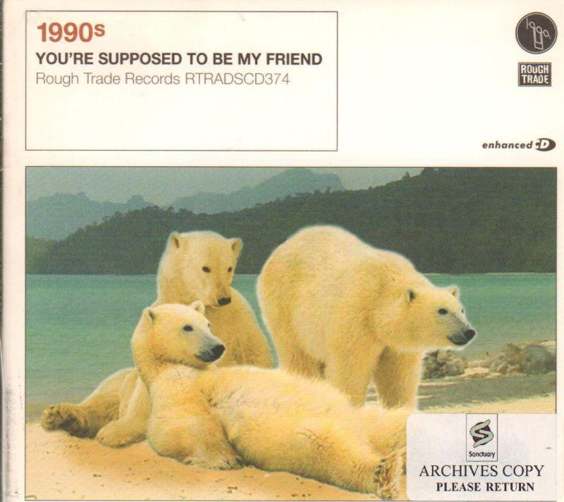 1990s-You'Re Supposed To Be My Friend-CD Single