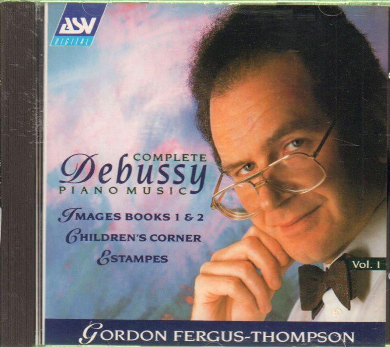 Claude Debussy-Piano Works - Children's Corner, Estampes-CD Album