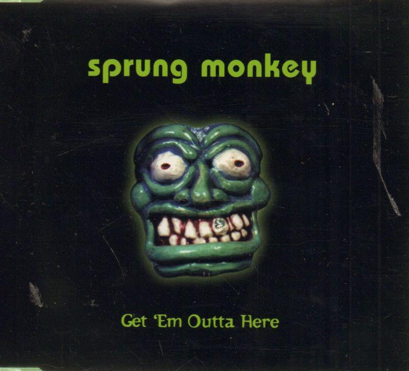 Sprung Monkey-Get Em Outta Here -CD Single