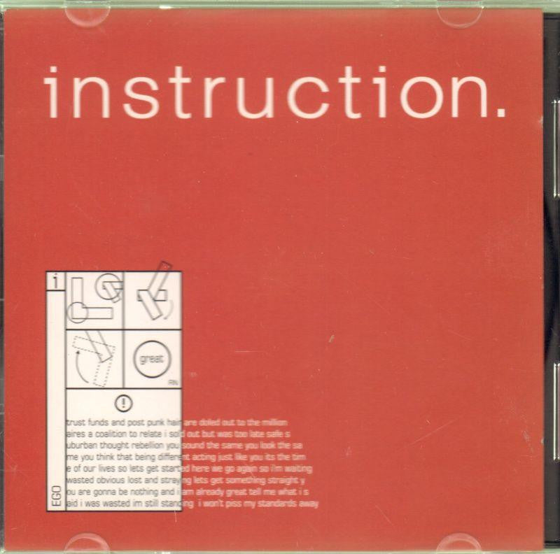 Instruction-The Great EP-CD Album